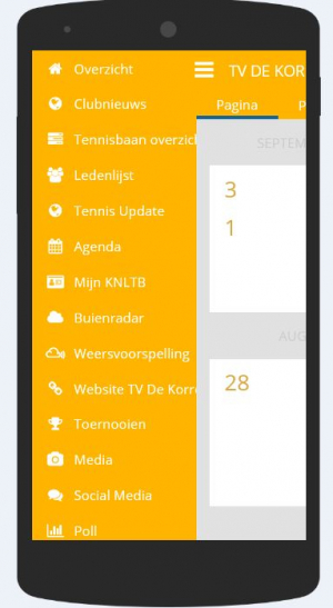 Screendump 2 ClubApp